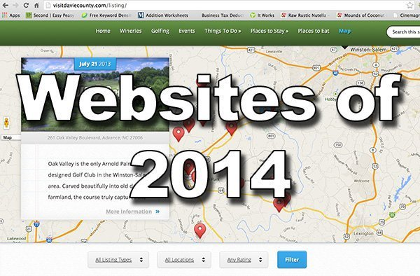 The Websites of 2014