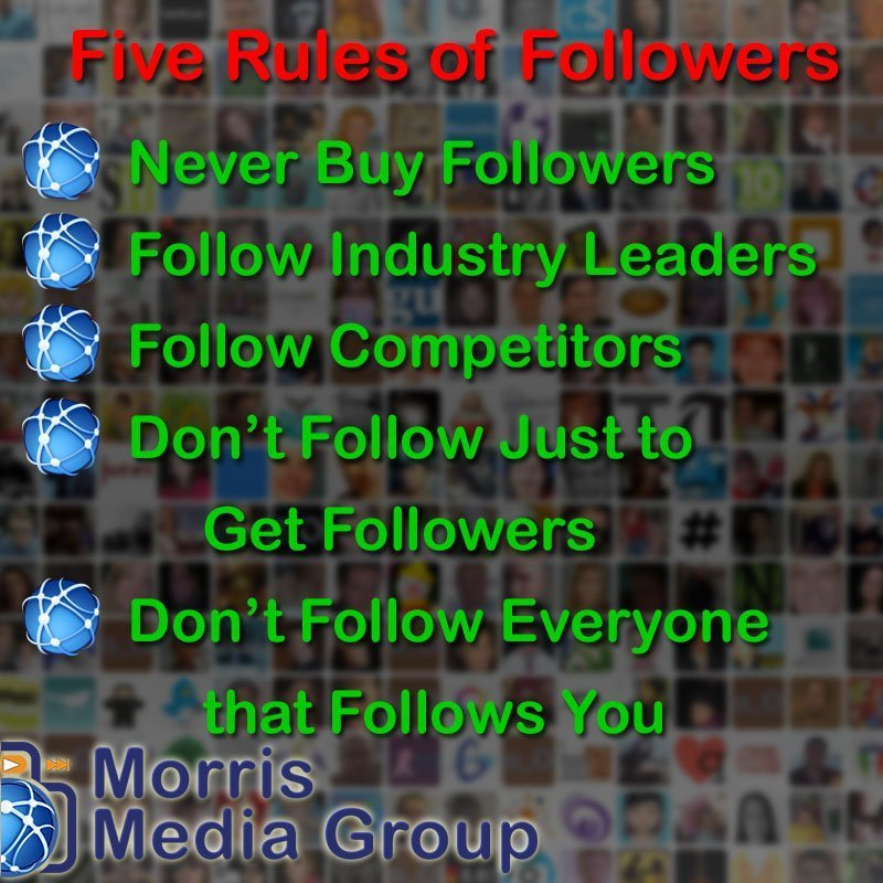 Five Rules of Followers